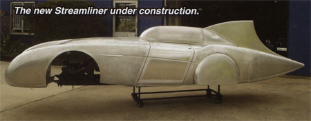 The new Streamliner under construction